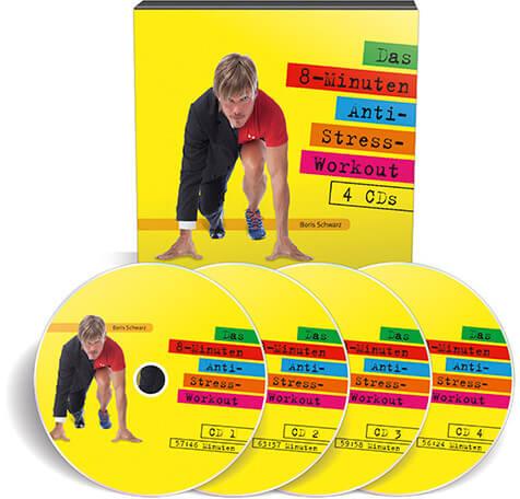 Das 8-Minuten-Anti-Stress-Workout (Hörbuch – Audio CDs)